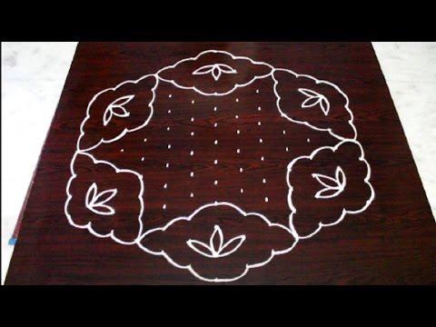 pongal kolam designs with 13x7 interlaced dots || sankranthi muggulu designs || easy rangoli designs