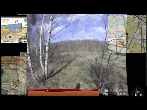 Vierveld 1 april 2012: My 3rd Orienteering Headcam Video