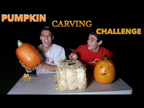 carving-pumpkins-challenge-//-dolan-twins