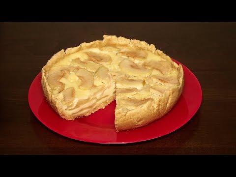 Пирог яблочный по цветаевски в мультиварке