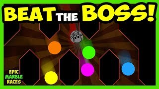 Lets bring back the beat the boss epic marble race! Today, there ar...