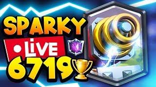 WORLD'S #1 SPARKY PRO LIVE | 6719 TROPHY DECK!