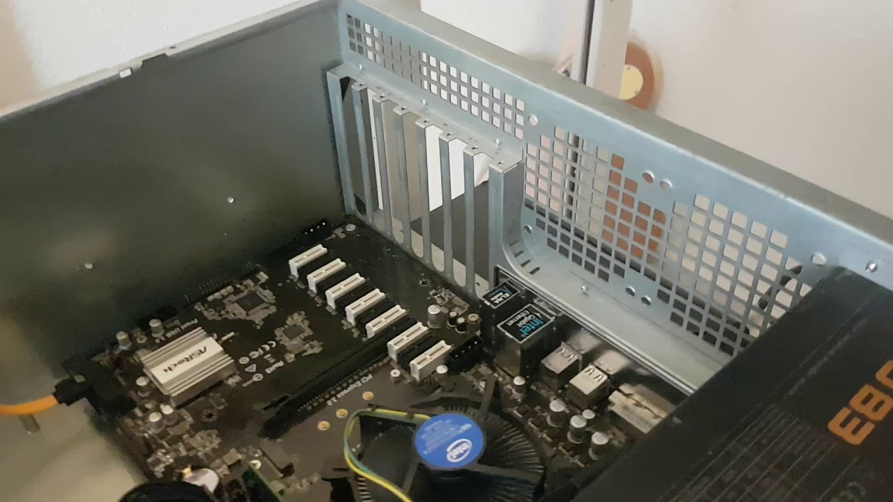 brand new asrock h110 pro btc+ 13gpu mining motherboard cryptocurrency
