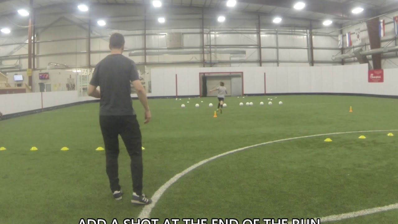 Youth Soccer Training Progression to Agility, Speed and Coordination Soccer  Drills