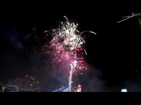 Sydney Darling Harbour Fireworks - Australia Day 2016
