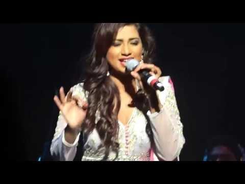 tere naina bade kaatil - Shreya Ghoshal live in Vancouver