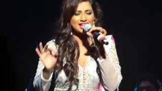 tere naina bade kaatil - Shreya Ghoshal live in Vancouver