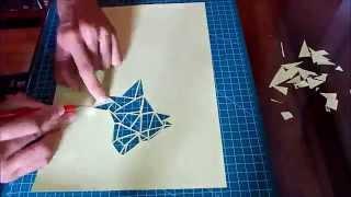 Paper Cut - Quadrupedal Animal