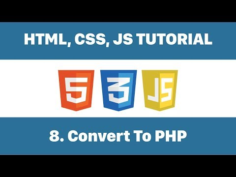 Convert HTML To PHP