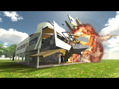 Disassembly 3D: Ultimate Demolition Villa Savoye