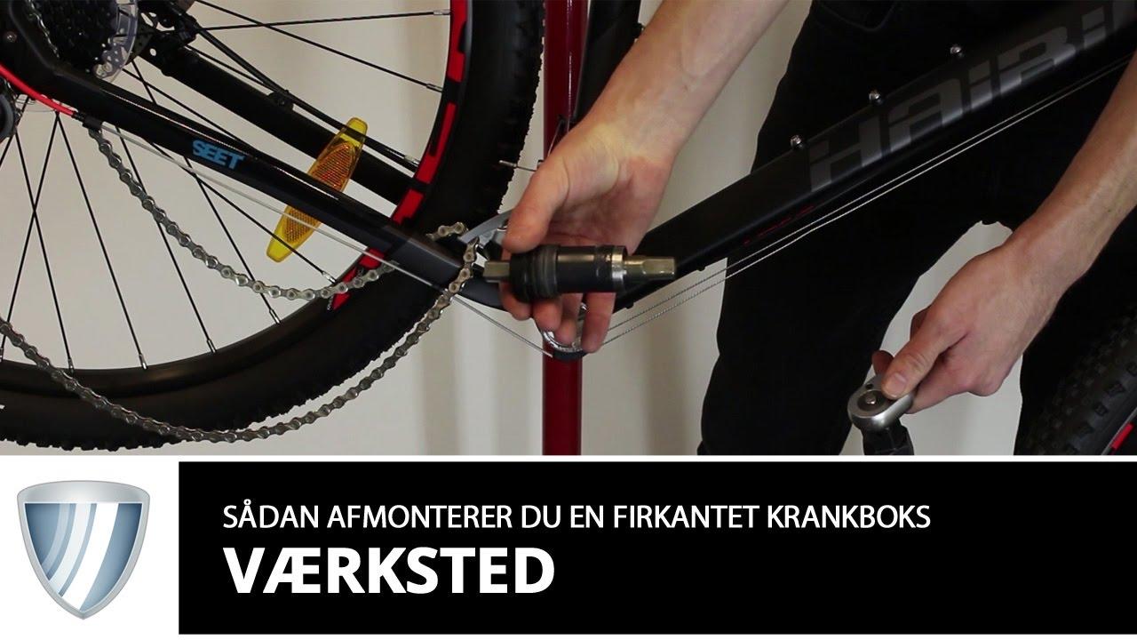 Cykel krank knirker