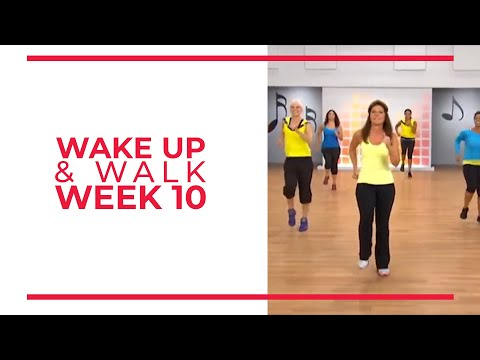 WAKE UP & Walk! Week 10 | Walk At Home YouTube Workout Series