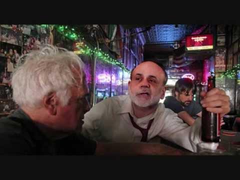 Ben Bernanke Drunk at Bar (Son disowns him)