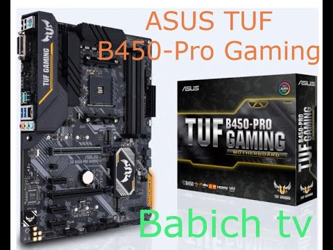Материнська плата Asus TUF B450-Pro Gaming (sAM4, AMD B450, PCI-Ex16)