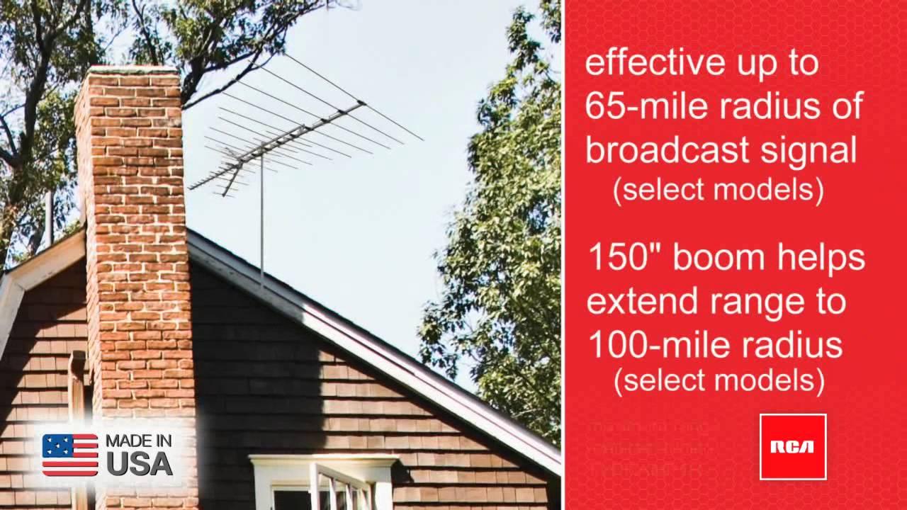 Rca Antennas Rca Outdoor Hdtv Antenna Ant3036 Ant3037 Ant3038