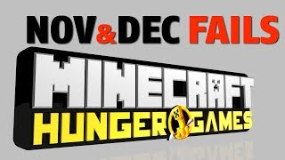 Minecraft: Hunger Games FAILS NOV & DEC 2013 w/Phil & Alex!