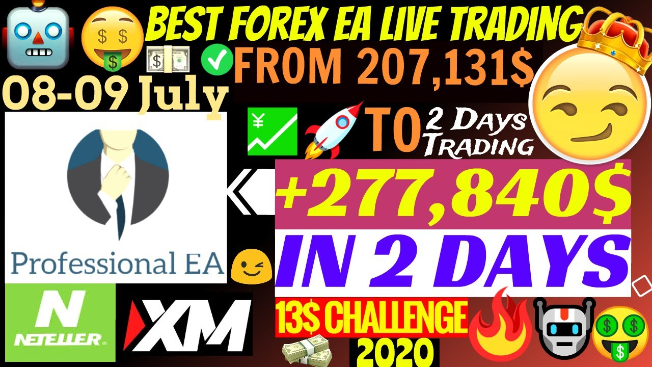 📈 Forex Trading EA Makes Live Profitable Account Grow +277,840$ In 2 Days!!!🤑 | Professional EA