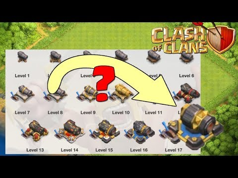 Defensive Buildings Upgrade: Cannon, Archer Tower, Wizard Tower, Air Defense, Etc | Clash Of Clans