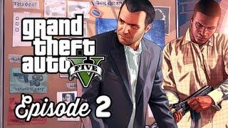 Grand Theft Auto 5 Walkthrough Part 2 - Repossession & Complications ( GTAV Gameplay Commentary )