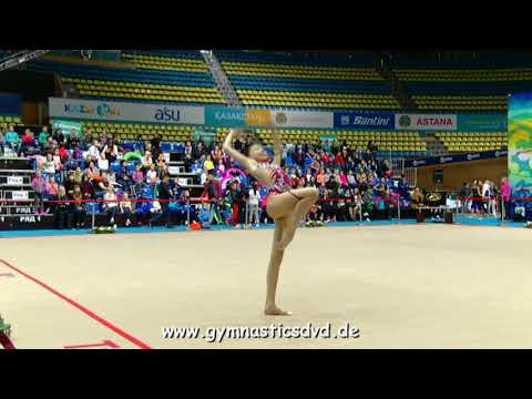 Elvira Adambayeva (KAZ) - FIG Junior 13 - Zhuldyz-Cup Astana 2018