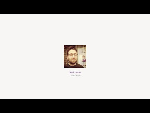 Mark Jones: Be famous? - Front-end London May 2014