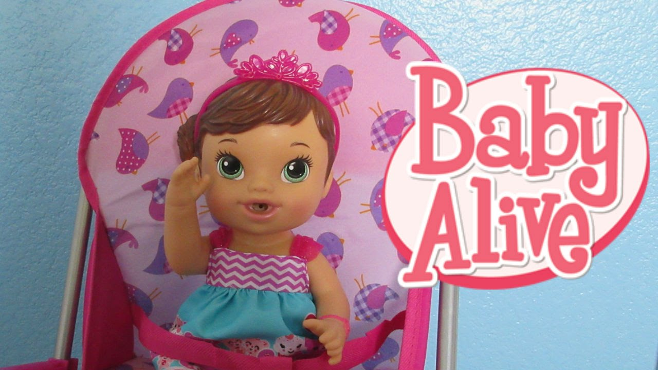 Baby Alive Unboxing High Chair With Teacup Surprise Baby