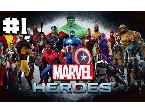 Superhero Wallpaper Hd Download Marvel Heroes Mmo Part 1 Prologue Youtube