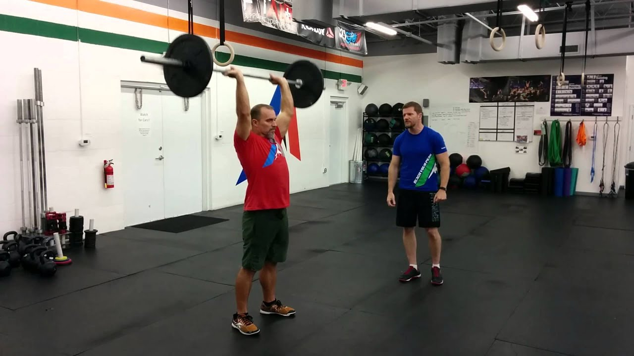 CrossFit Instructional Series: The Strict Press - YouTube