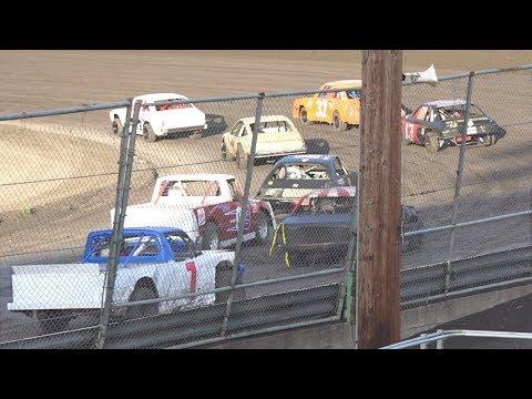 Mini Stock MAIN 7–15-17 Petaluma Speedway