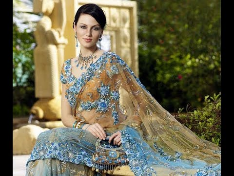 Stani Wedding Dress For Walima Sky Blue Bridal 2017 2018