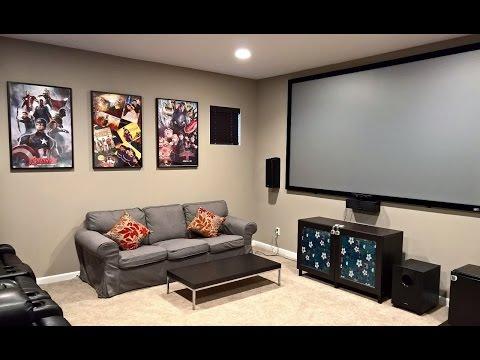 A basic Media room setup