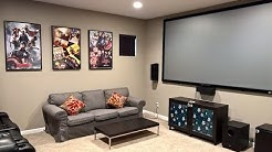 A basic Media room setup