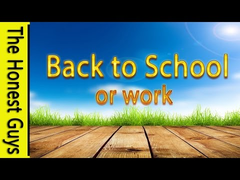 GUIDED MEDITATION: Facing Going Back to work or School