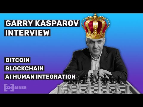 Garry Kasparov on Blockchain, Bitcoin's Future and Artificial Intelligence (Interview)
