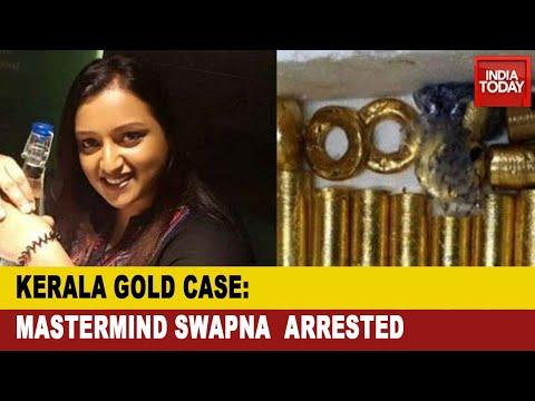 Kerala Gold Smuggling Case: NIA Arrests Prime Accused Swapna Suresh, Sandeep Nair
