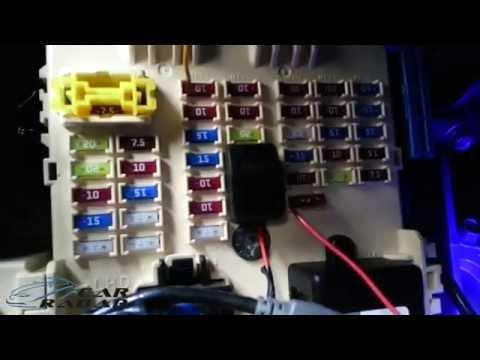 Подключение видеорегистратора в автомобиле через Power Magic