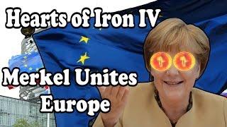Hearts Of Iron 4 MERKEL UNITES EUROPE - MODERN DAY MOD