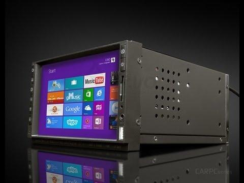 "E3iO 2Din CarPC With Windows 8 | Car Computer 7"" Touch Screen (HQ Video)"