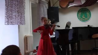 Юрченко Екатерина 8 лет Данкля Вариации на тему Доницетти