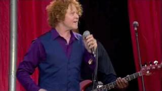 Simply Red - It's Only Love Live from Budapest June 27th 09
