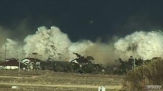 南相馬市に押し寄せる津波【視聴者提供映像】 thumbnail