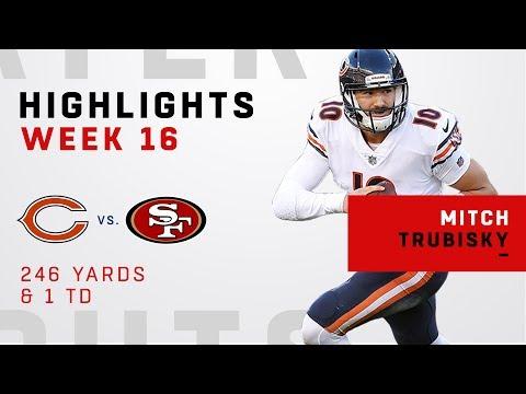 Mitch Trubisky Highlights vs. 49ers