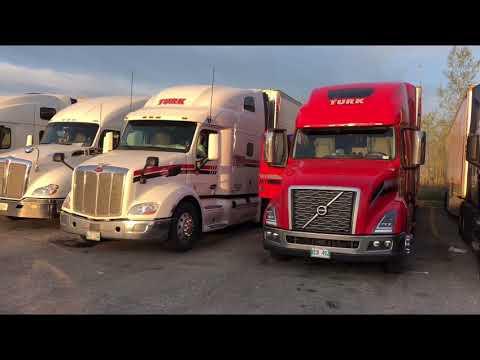Convoy Bagong Tao is Peterbilt 579 Torete is Volvo 760 Virginia and North Carolina