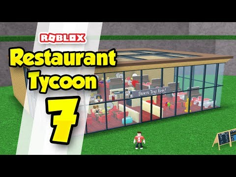 RESTAURANT TYCOON #7 - BIGGEST RESTAURANT EVER! (Roblox Restaurant Tycoon)