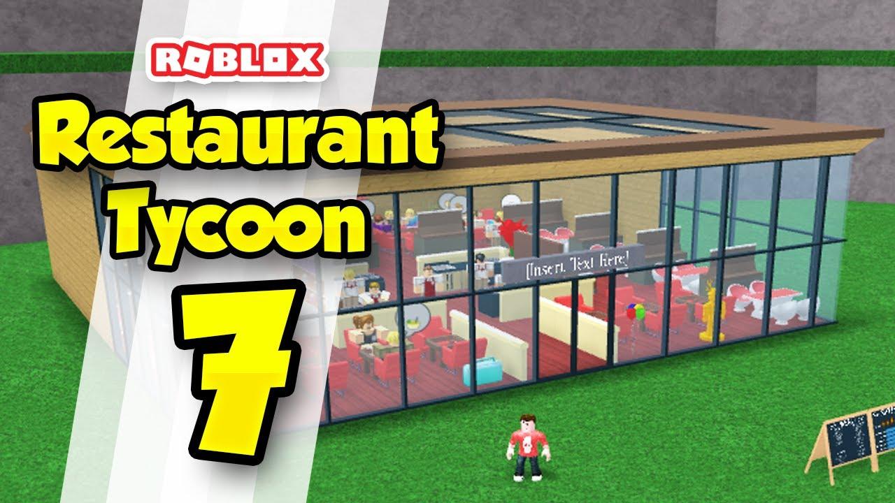 Best Restaurant Tycoon Design Roblox