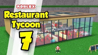 RESTAURANT TYCOON #7 - BIGGEST RESTAURANT EVER! (Roblox Restaurant Tycoon)