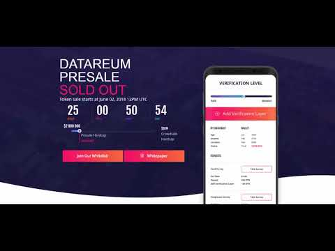 [ICO] Datareum - TAKE BACK OWNERSHIP OF YOUR DATA !!!