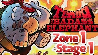 Action Elephant! - Tembo the Badass Elephant (PS4) [E10+] - Zone 1: Stage 1