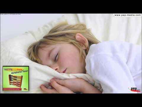 Learning while sleeping... Multiplication Tables // Times Tables