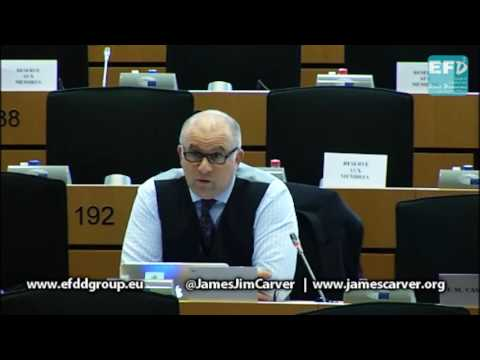 Foreign Affairs committee meeting with U.S. head of Mission to the EU - James Carver MEP